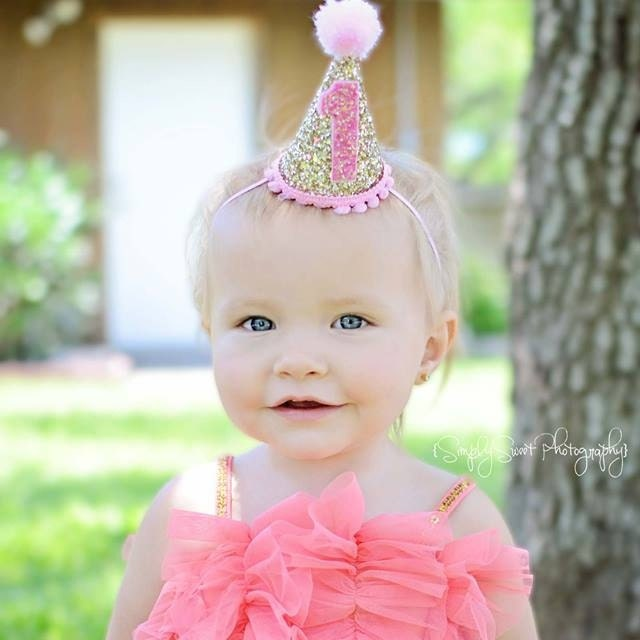 how to make a baby girl birthday hat images