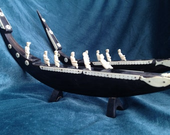Buffalo Horn Boats