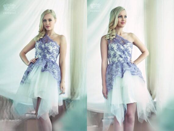 Lace evening dress, SAMPLE SALE, OOAK