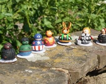 Adoo-Avengers - Polymer Clay figurine