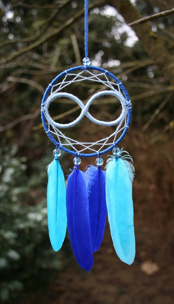 Items similar to infinity dreamcatcher on etsy for What do dreamcatchers do