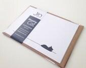 Sleeping Cat Notecards - Set of 4