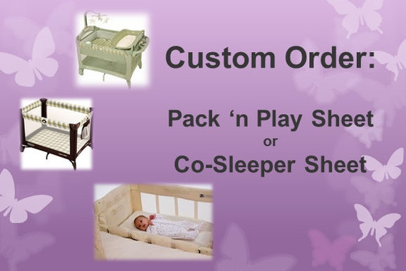 Fitted Sheet For Pack N Play Playpen Mini Crib Porta