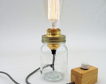 The Kilner Edison Desk Lamp