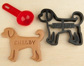 Goldendoodle Dog Cookie Cutter Custom Treat Personalized