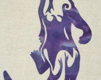 Otter Quilt Applique Pattern Design