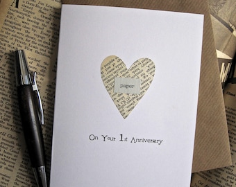 Ideas for st wedding anniversary gift for husband first wedding