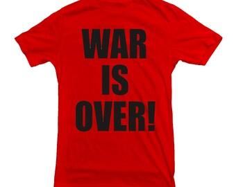 John Lennon T-shirt War Is Over! The Beatles