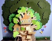 Built a Paper Tree House. Instant download.