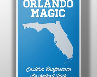 Orlando Magic Minimalist Print