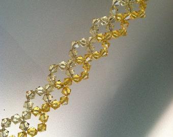 Swarovski yellow bracelet