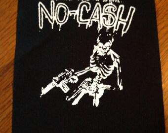No Cash Skeleton Punk Patch