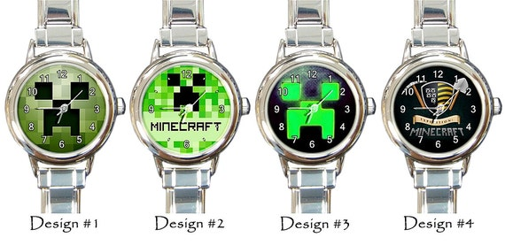 Minecraft Wrist Watch