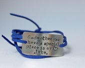 godmother bracelet, gift for godmother, godparents gift, baptistm gift for godmother, custom godmother gift, godmother jewelry, chistmas gif