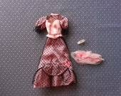 Vintage Barbie Truly Scrumptious dress Set 1968 GlidRose Productions Made in Japan