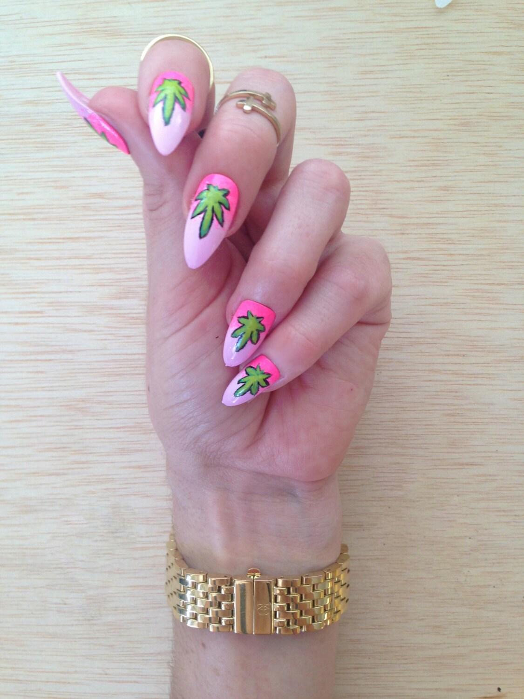 Weed nails | Etsy