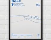 Gareth Bale vs Atletico Madrid Giclee Print