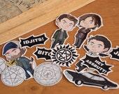 Supernatural Sticker Set