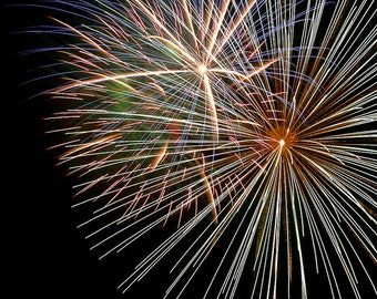 """Fireworks Canvas, """"Colossal,""""  Various Sizes"""