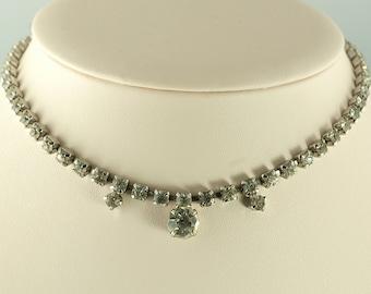 SALE--Vintage Rhinestone Necklace
