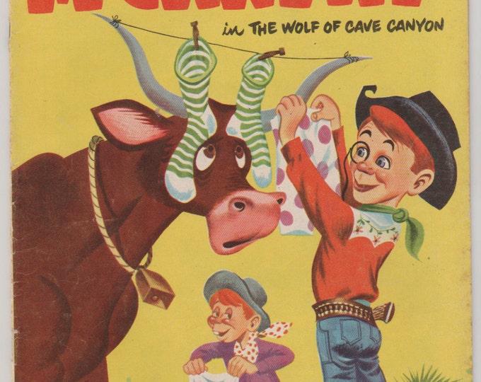 Charlie McCarthy; Vol 1, 9 Golden Age Comic Book. FN+  1952.  Dell Comics
