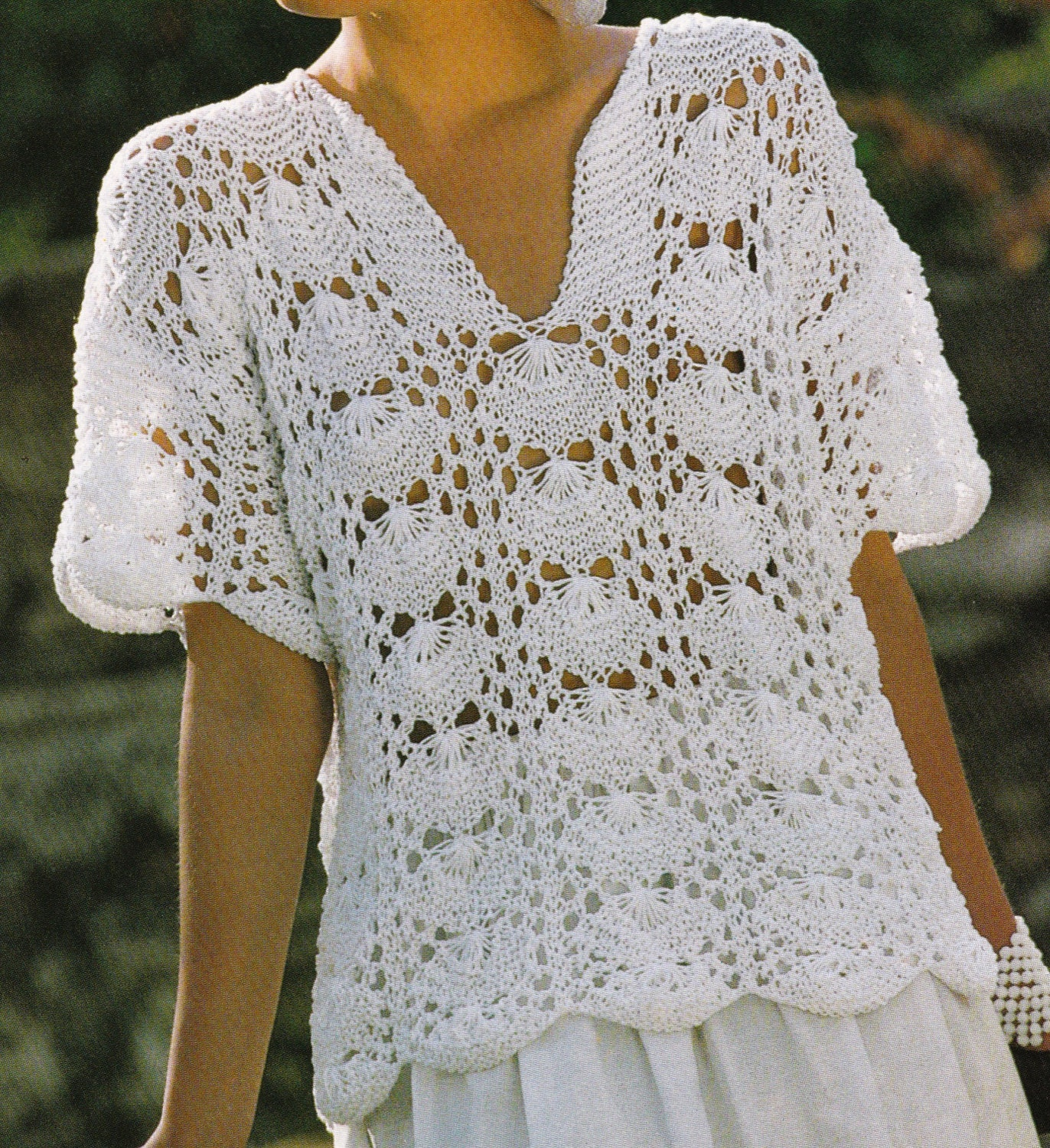 Vintage Knitting Pattern Instructions to Make a by ...