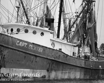 4 prints of Tarpon Springs marina - photographic prints