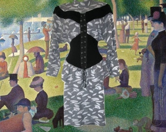plus size sweater dress corset peplum skirt 12 14 1x extra large xl