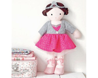 Ballerina Doll Sewing Pattern (803525)