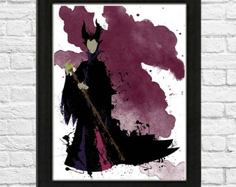 Sleeping Beauty's Maleficent Poster