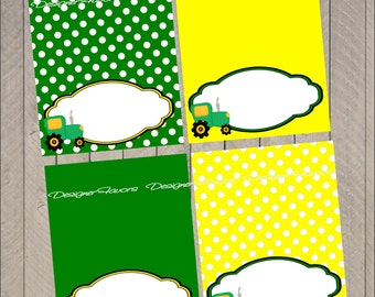 Tractor Time Food Label Tractor Table Tent INSTANT DOWNLOAD Printable Party Decoration  sc 1 st  Etsy & Tractor table tent | Etsy