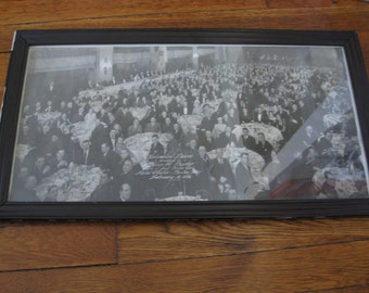 1930s Framed Group Photo