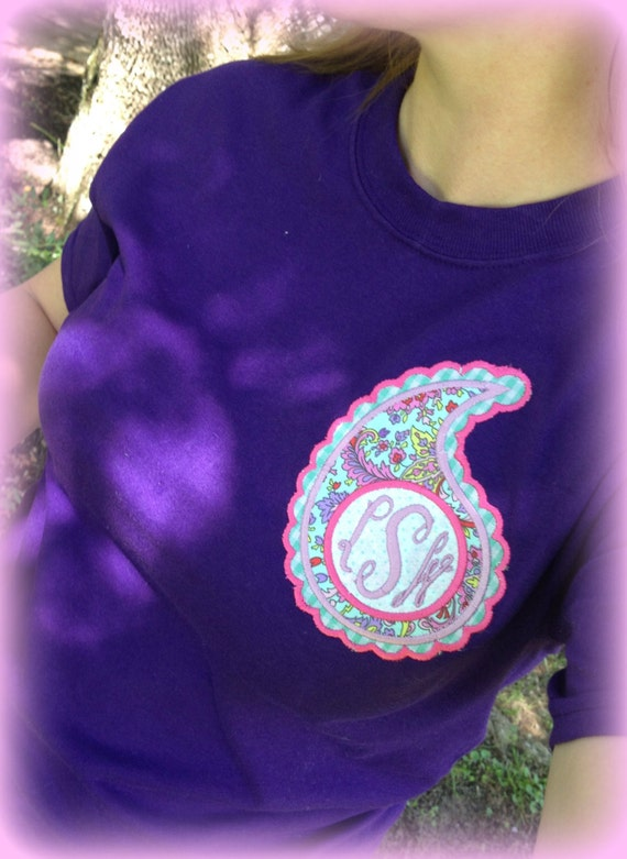 Women's Monogram Paisley T-Shirt
