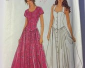 1990 VINTAGE 7143 Simplicity It's So Easy Dress Pattern