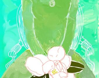 Magnolia Lady