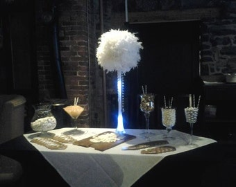 Feather Ball for  Centerpiece