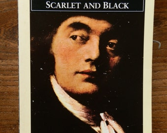 Vintage Book: Scarlet and Black by Stendhal, Penguin Classics