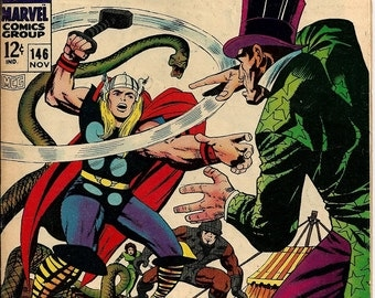 The Mighty Thor #146 (1967) Condition  Very Good