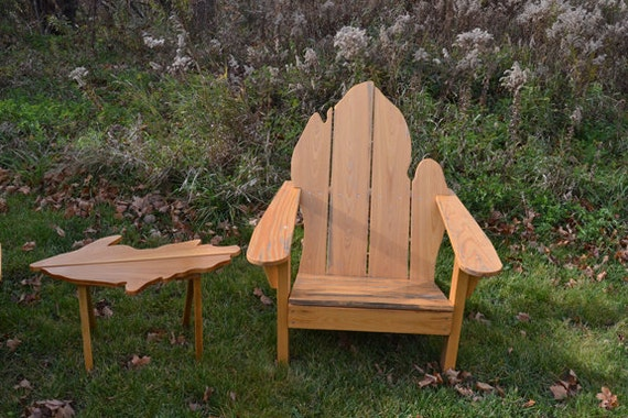 handmade adirondack chairs items similar to handmade wood adirondack chairs shaped 8049