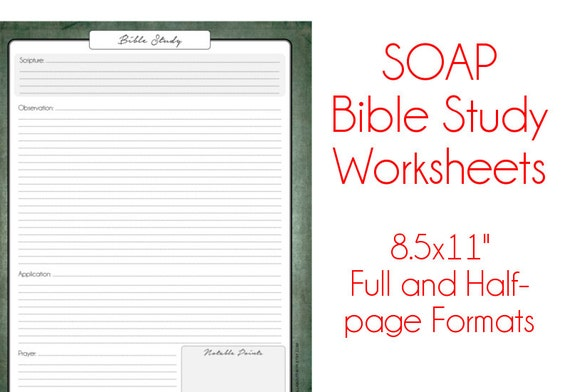 Worksheets Bible Study Worksheet items similar to s o a p bible study worksheets antique paper religious printable pdf instant download 8