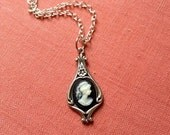 Art Nouveau Cameo Necklace