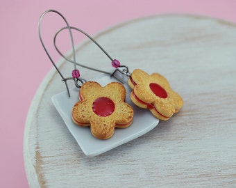 Jam Cookie Earrings