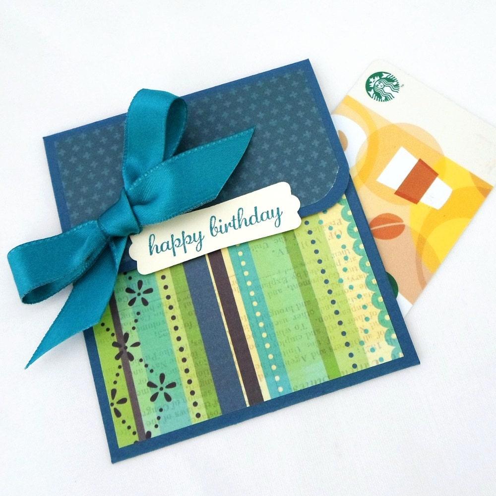 Birthday Gift Card Holder Birthday Money Enclosure Card