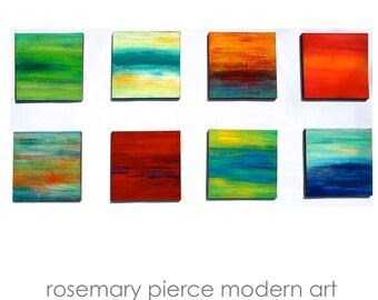 Large Abstract Wall Art | Beach Painting | Wood Wall Sculpture | Original Art | Custom Art | Corporate Artwork | Rosemary Pierce Modern Art