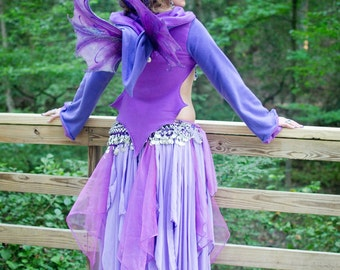 Kis (small) Gypsy Faery Wings Fairy Wings Little Gypsy Fae for Bridal Wedding Cosplay Convention LARP Halloween Costume Fair Faire Festival