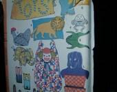 60s Retro Craft Pattern 25 Bazaar Boutique Items McCall 8895 Craft Shows