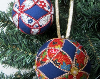 DIY Christmas Ornament Tutorial PDF - Trinity