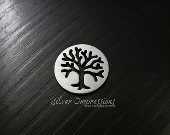 Tree of Life Locket Insert  / Floating Locket Tree Charm / Charm Locket / Memory Locket