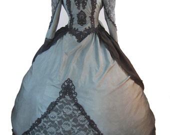 Gothic  Wedding Dress Steampunk Vintage Victorian Ball Gown Costume