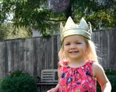 Golden King's Crown // Child's Dress-up // Stretch to fit